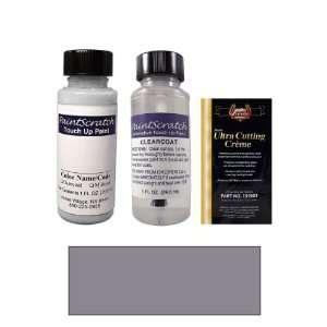 1 Oz. Light Purple Silver Metallic Paint Bottle Kit for