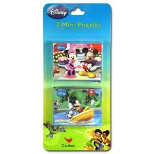 Disney Mickey Clubhouse 2pk Mini Puzzles Toys & Games