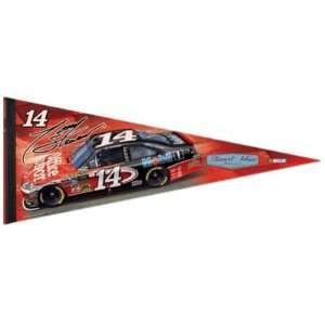 TONY STEWART OFFICIAL NASCAR FULL SIZE FELT PENNANT