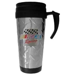 NASCAR Diamond Plate Travel Mug   NASCAR NASCAR   Fan Shop Sports Team