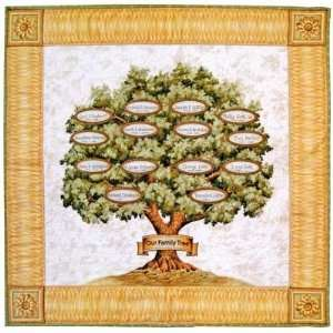 Family Tree Quilt Kit By The Each Arts, Crafts & Sewing