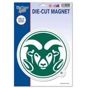 Colorado State Rams Official Logo Die Cut Magnet Sports