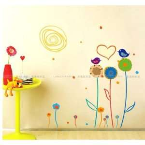 Childrens Room Background, Removable Wall Stickers