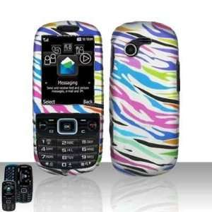 Samsung Gravity 3 T479 Colorful Zebra Hard Case Cover