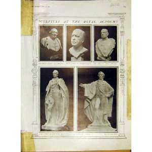 Sculpture Royal Academy Paintings Pictures Print 1914