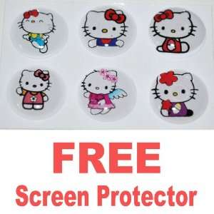 Hello Kitty Home Button Sticker for Apple Ipad/iphone 3g