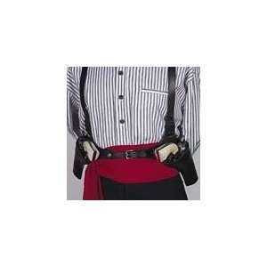 : The Double Huckleberry Leather Shoulder Holster: Sports & Outdoors