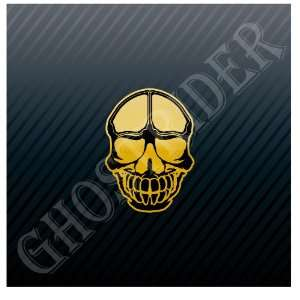 Snowboard Ski Skiing Skull Car Sticker Decal Everything