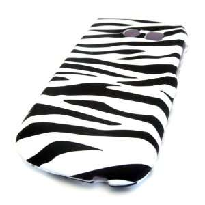 Samsung R375c Straight Talk White Zebra HARD GLOSS CASE