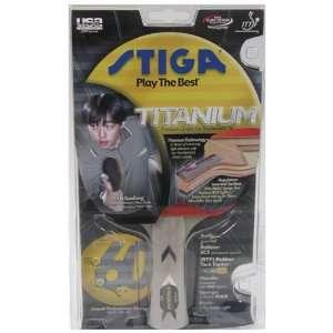 Stiga T6942 Titanium Table Tennis Racket Sports