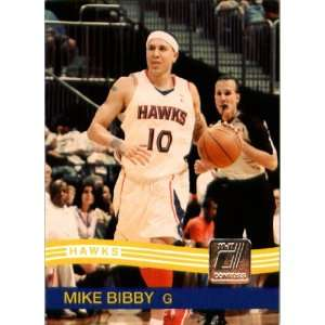 2010 / 2011 Donruss # 151 Mike Bibby Atlanta Hawks NBA