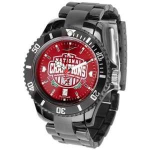 Alabama Crimson Tide 2009 BCS National Champions Mens Black Crimson