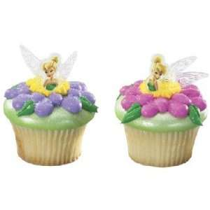 Disney Fairies tinker Bell Wings Cupcake Rings SET of 12  Toys