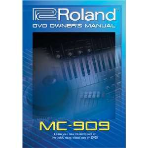 Roland MC 909 DVD Video Training Tutorial Help Movies & TV