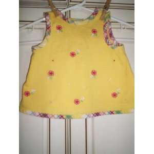 22 25 Lbs. Yellow with Raised Flowers and Matching Trim. 100% Cotton