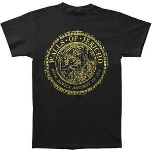 Walls Of Jericho   T shirts   Band Clothing