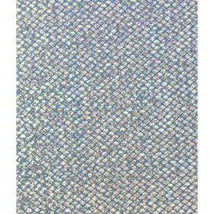 Small Fish Scales Turquoise Hologram Spandex Fabric: Arts