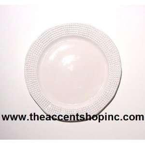 Michael Wainwright Manhattan White Dinner Plate(14MA03)
