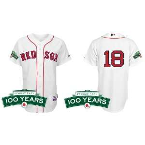 Boston Red Sox Authentic MLB Jerseys #18 Daisuke Matsuzaka WHITE