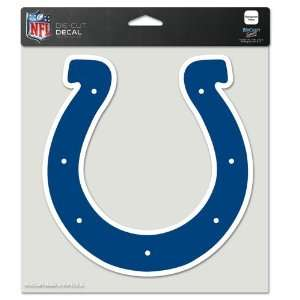 Indianapolis Colts Die Cut Decal   8in x8in Color