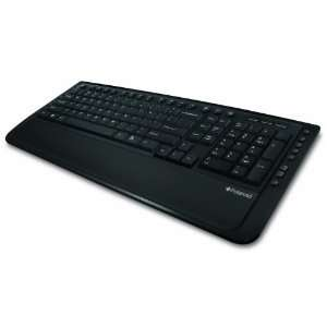 Wireless Multimedia Keyboard and Laser Mouse Black Electronics