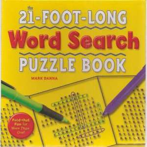 The 21 Foot Long Word Search Puzzle Book Fold Out Fun for