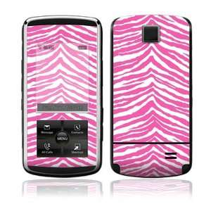 Pink Zebra Decorative Skin Cover Decal Sticker for LG
