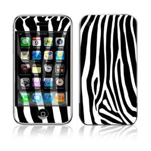 Zebra Print Decorative Skin Cover Decal Sticker for Apple
