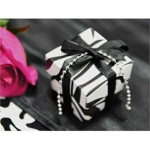 ZEBRA Wedding Favor Boxes Party Gift Supplies Cute Home & Kitchen