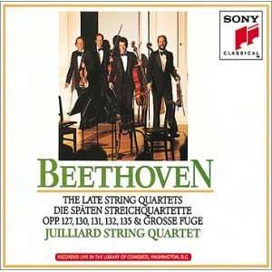 Beethoven The Late String Quartets Music