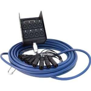 Whirlwind Audio Snake, MEDUSA, 8 XLR inputs, no returns