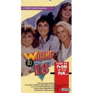 Welcome to 18 [VHS] Courtney Thorne Smith, Mariska