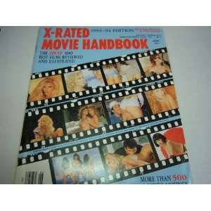 Movie Handbook Magazine Vol. 7 #6 1993 1994 Edition adam film Books