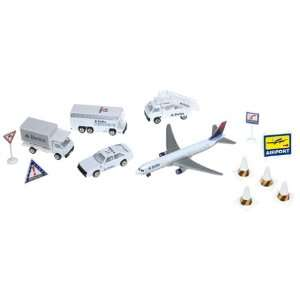 Delta Airlines Die Cast Airport Play Set Toys & Games