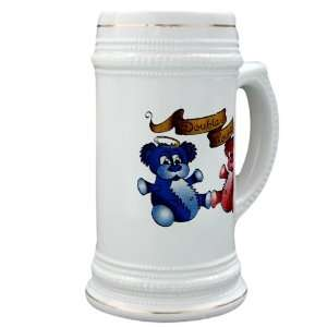 Drink Mug Cup) Double Trouble Bears Angel and Devil Everything Else