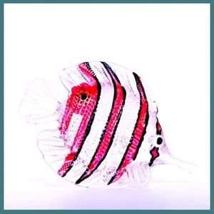 Hawaiian Glass Figurine Audrey the Angel Fish