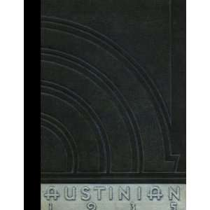 Austin High School, Austin, Minnesota 1935 Yearbook Staff of Austin