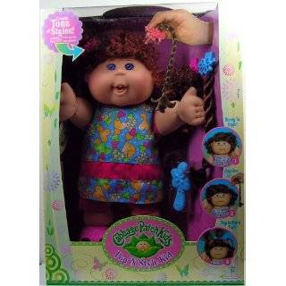 Cabbage Patch Kids Doll   Hispanic Girl with Black Hair: Toys & Games