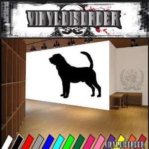 Dogs Hound Blood Hound 3 Vinyl Decal Wall Art Sticker