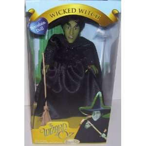 The Wizard of Oz Wicked Witch 7 Porcelain Doll Toys & Games