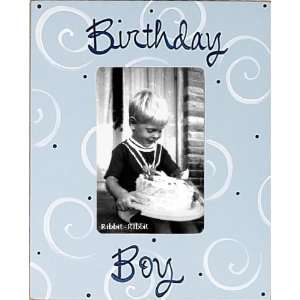 Birthday Boy Picture Frame in Sky: Baby