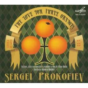 Love for Three Oranges Prokofiev, Soloists All Union