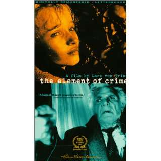 Element of Crime [VHS] Michael Elphick, Esmond Knight, Me