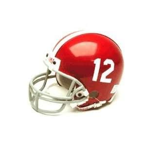 Alabama Crimson Tide Miniature Replica NCAA Helmet w/Z2B Mask