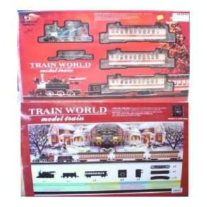 Continental Express 0n30 Scale Steam Christmas Passenger Train Set