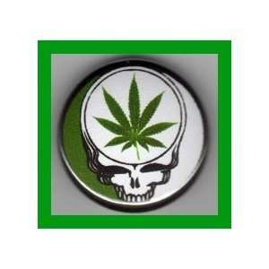 Leaf Grateful Dead 1.25 Pinback Button Pin / Badge