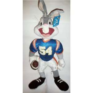 Looney Tunes 30 Inch Bugs Bunny Football Character Plush