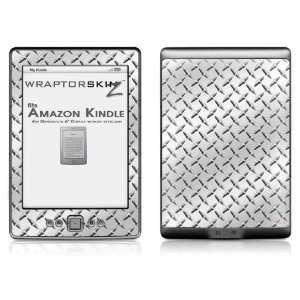 Diamond Plate Metal Skin (fits  Kindle 4   6 display, no