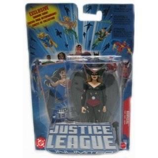 Justice League Unlimited Batman, Hawkgirl, & Elongated Man