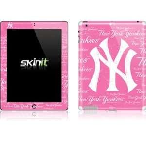 Skinit New York Yankees   Pink Cap Logo Blast Vinyl Skin